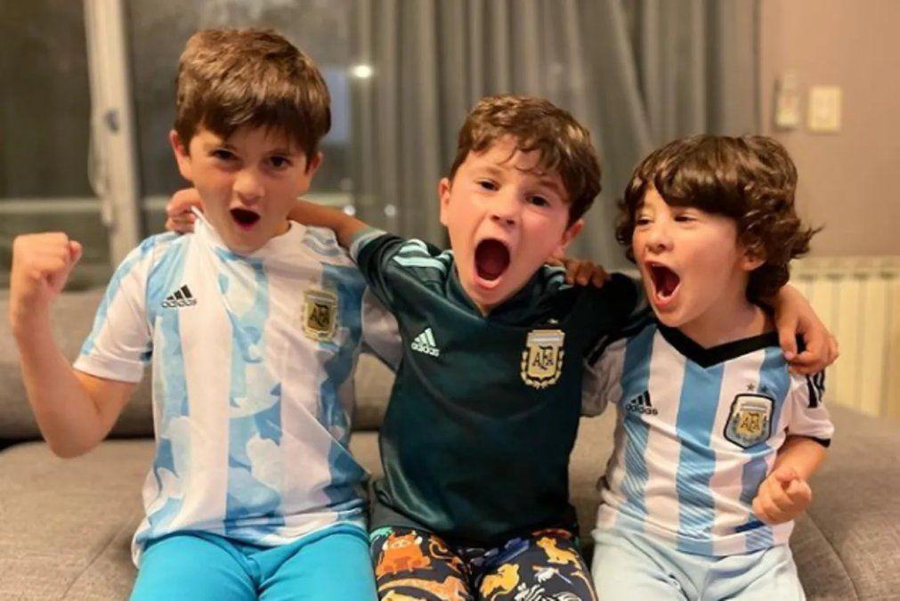 Los hijos de Messi hicieron pogo con el nuevo tema de Bizarrap