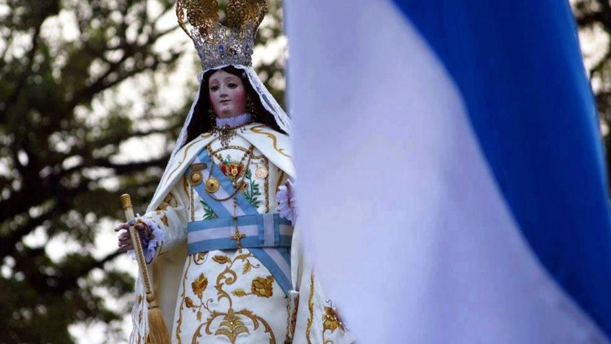 El Día de la Virgen de la Merced se celebrará en las redes