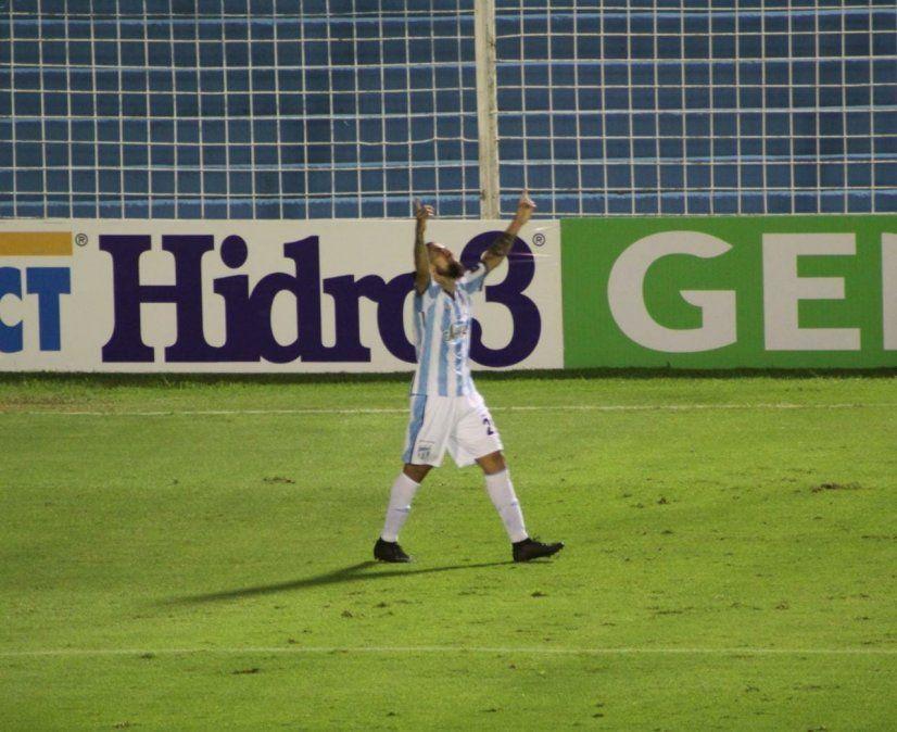 Oscar Benítez marcó el 1 a 0 ante Vélez y Atlético se ilusiona.