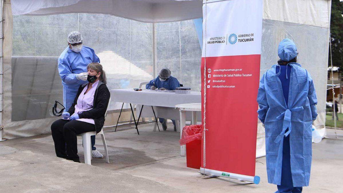 Coronavirus: Tucumán acumuló 518 casos y seis muertes