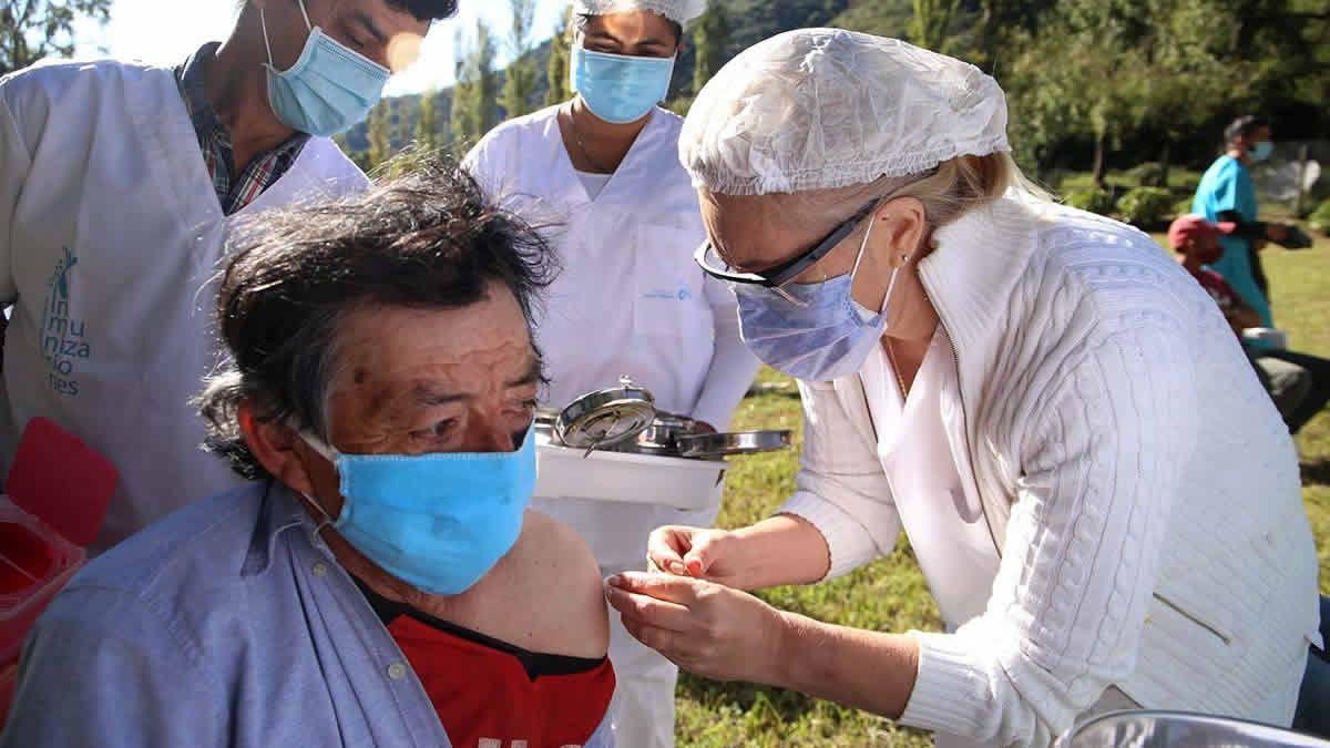 Alta Montaña: aplican segundas dosis en Anca Juli y Ñorco