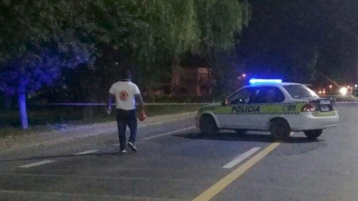 En el lugar trabajaron Policía de Villa Quinteros