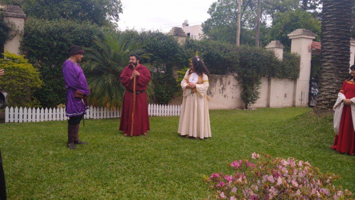 Por unas horas, Aguilares regresó al medioevo