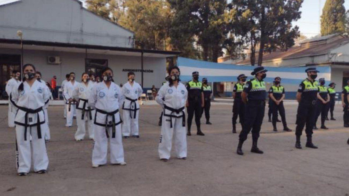 La Policía de Tucumán y una particular marca con artes marciales