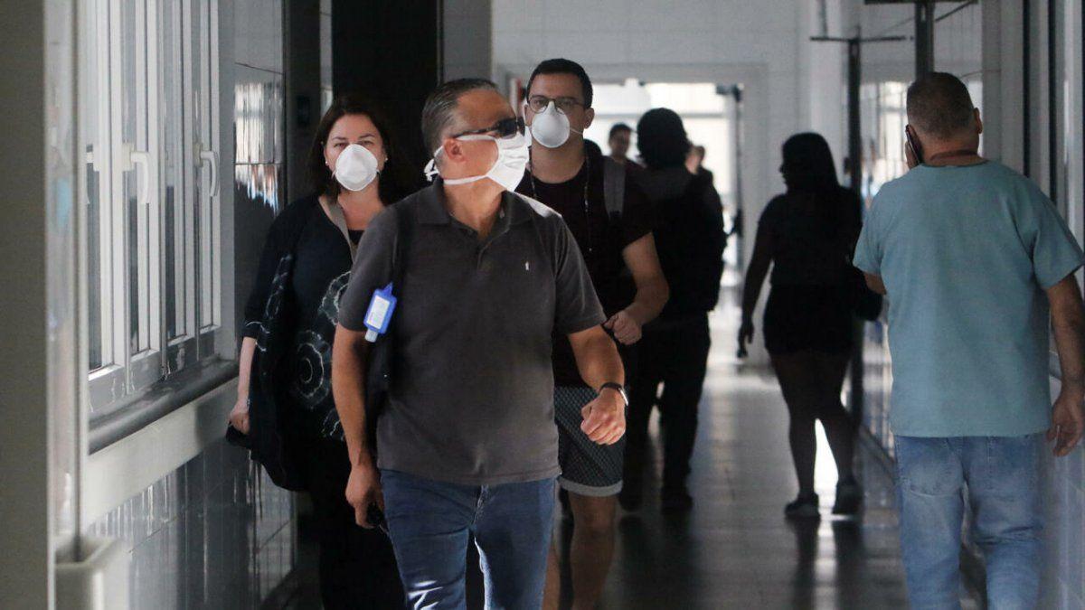 Coronavirus: informaron 153 muertes y 2510 nuevos casos
