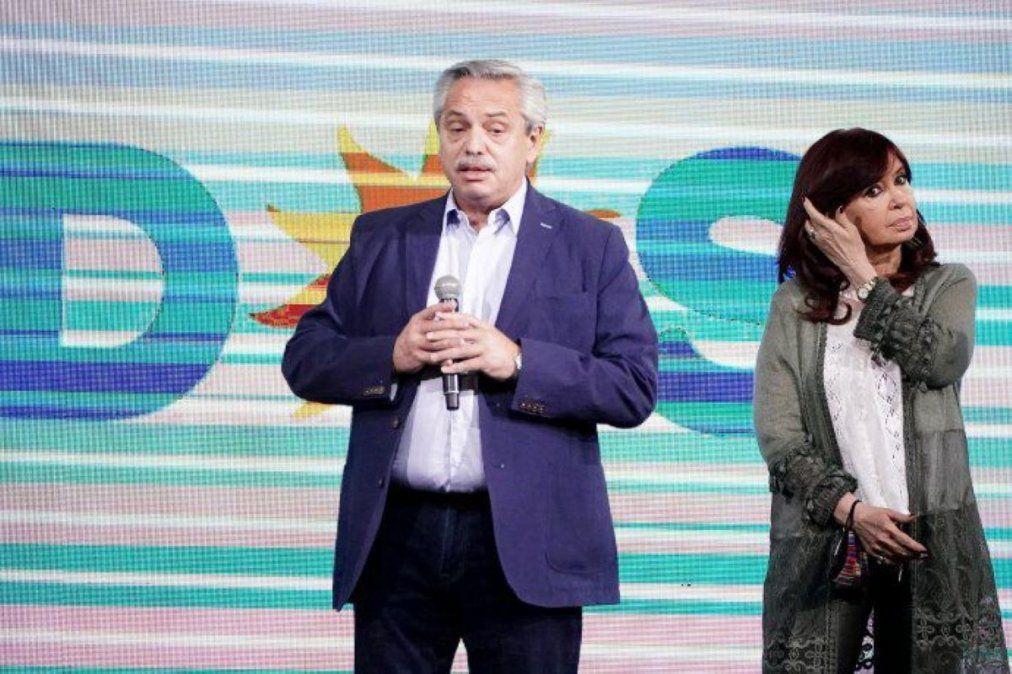 Cristina reunida con Wado de Pedro y Alberto con Quintela