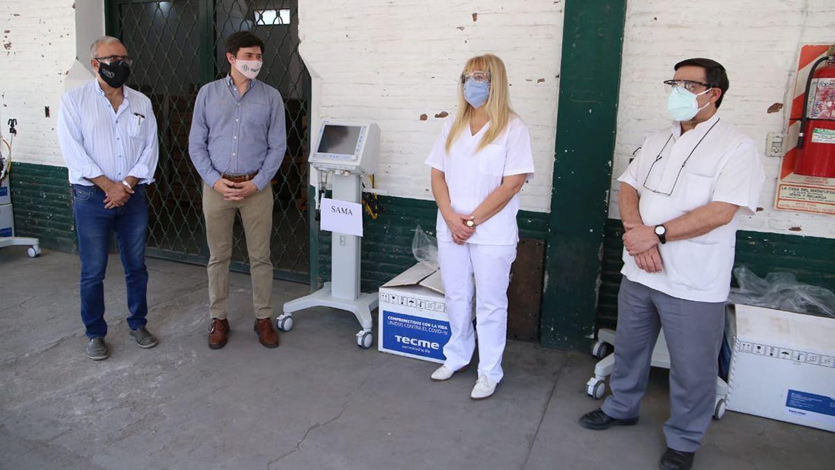 Salud provee más respiradores a clínicas y sanatorios