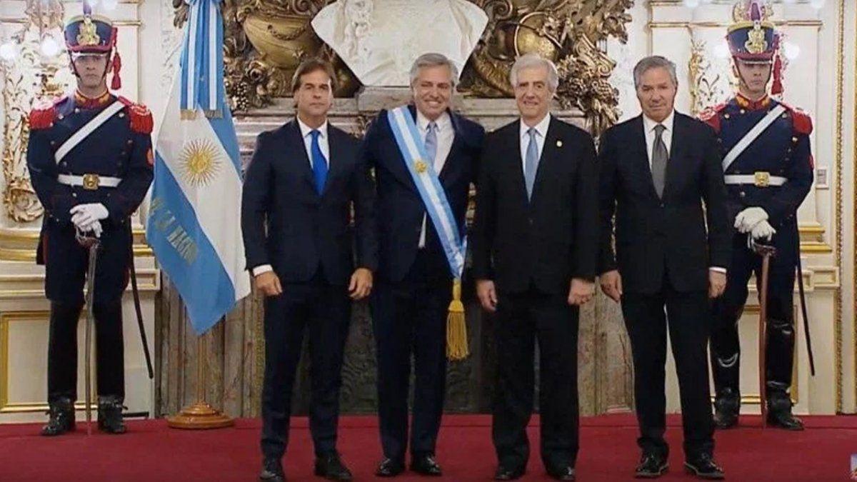 EN VIVO: Alberto Fernández saluda a las delegaciones extranjeras