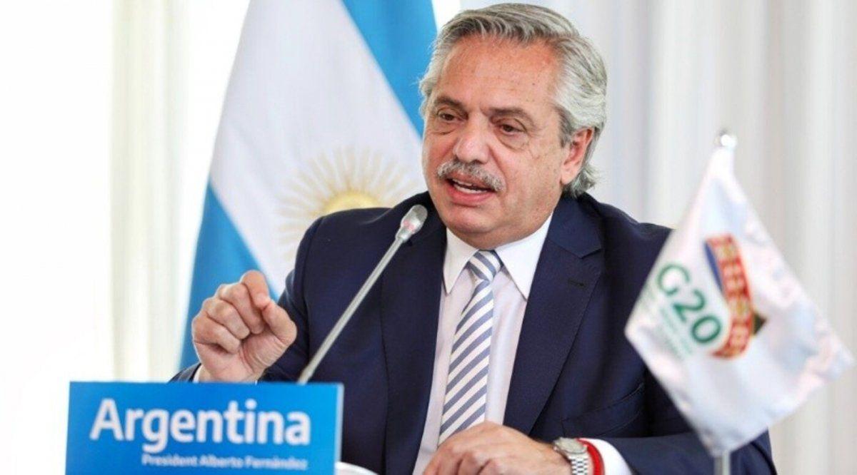 Fernández expuso en el G20.