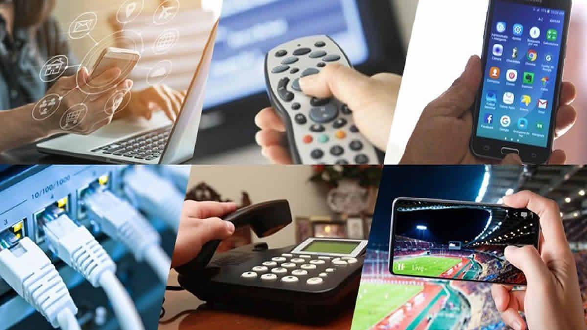 Aumenta la telefonía fija, móvil, Internet y televisión por cable