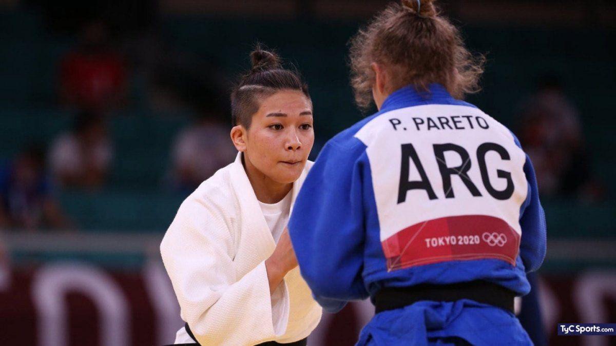 Pareto perdió en el repechaje para obtener una medalla