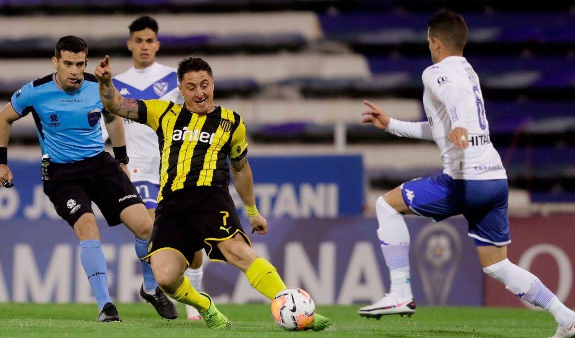 Rodriguez fue la referencia de juego que tuvo Peñarol.