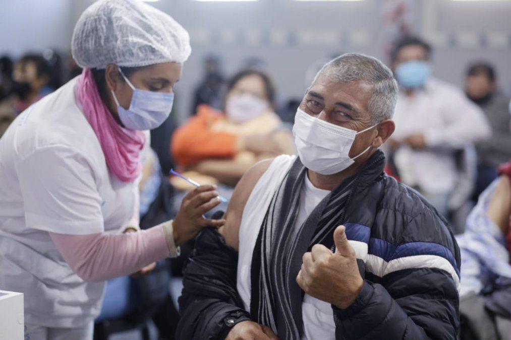 El personal de salud agradeció el cariño de los tucumanos. Foto: educaciontuc.gov.ar