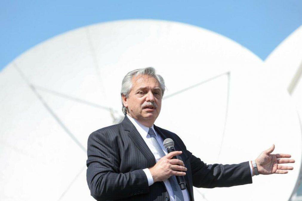 Alberto Fernández defendió el cepo reforzado al dólar