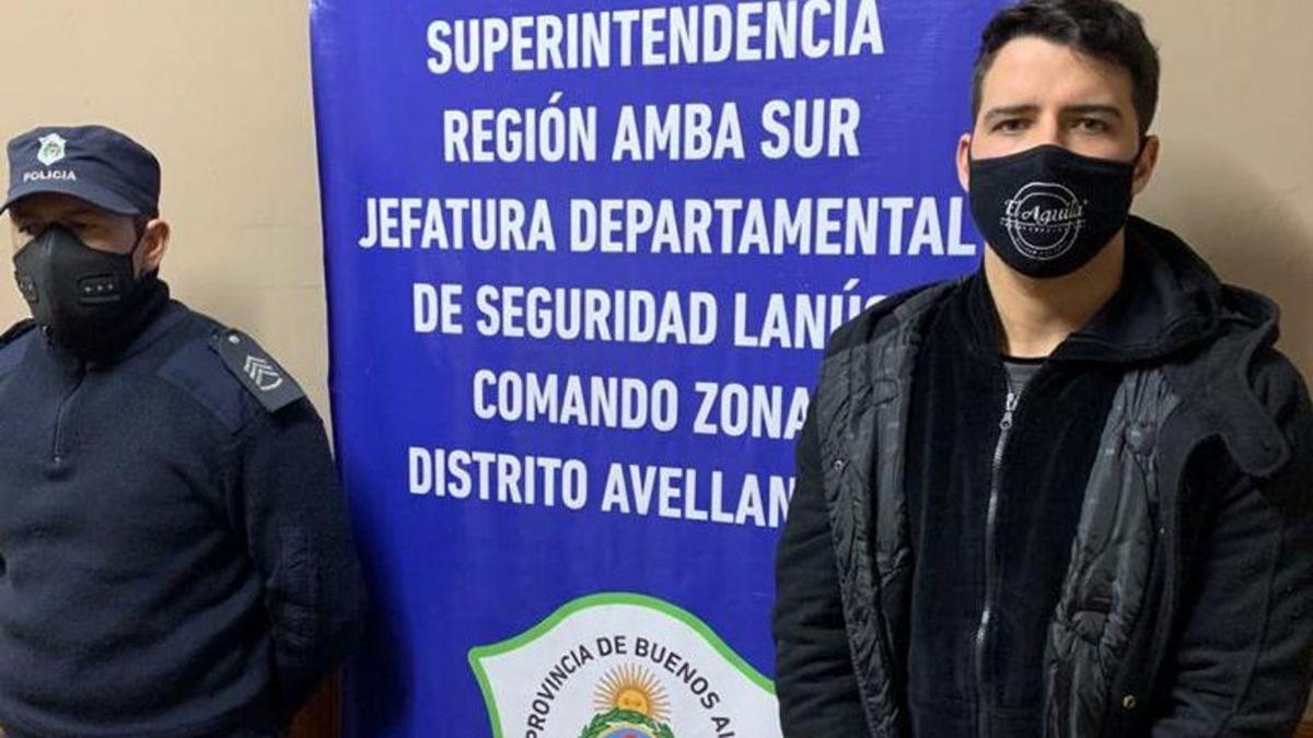 Alexis Zárate fue detenido por la causa de abuso sexual