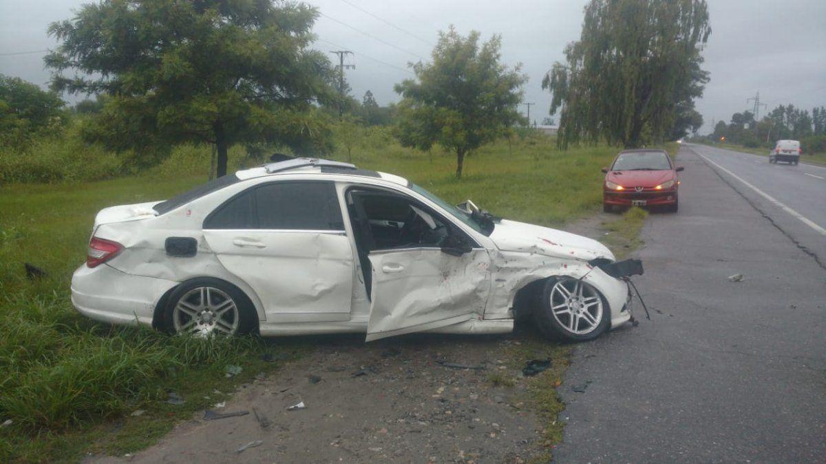 Se desconocen las causas del accidente que protagonizaron los dos automóviles.