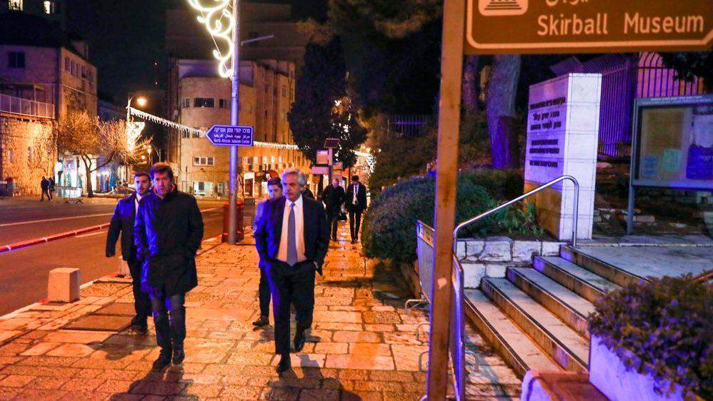 La presencia de Alberto Fernández en Israel es trascendental