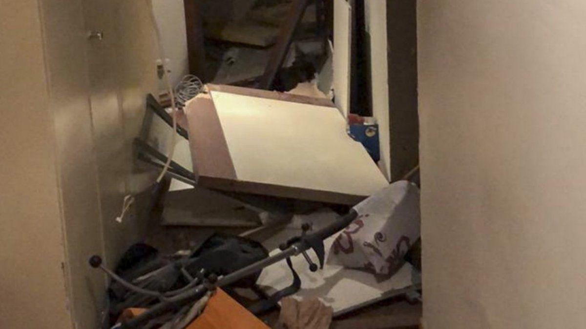 Beirut: tras la explosión, la embajada argentina sufrió daños