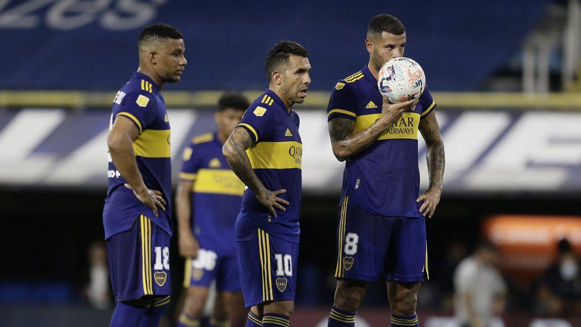 Boca se perfila para enfrentar a Sarmiento sin Tevez