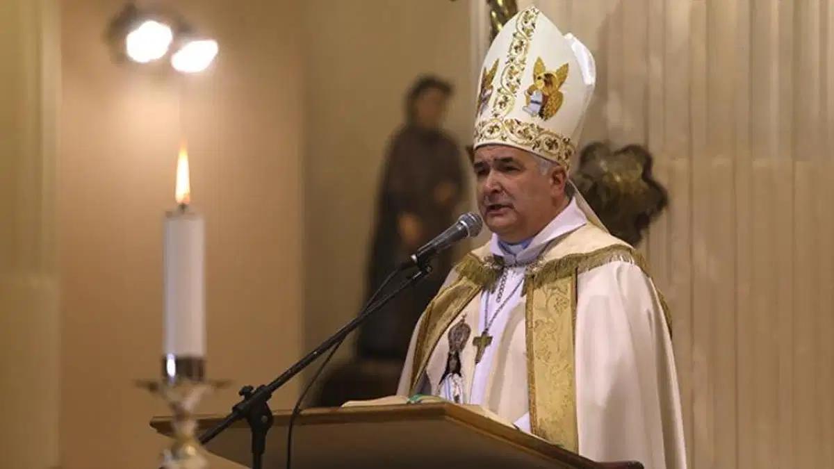 El Arzobispo Carlos Sánchez fue dado de alta.