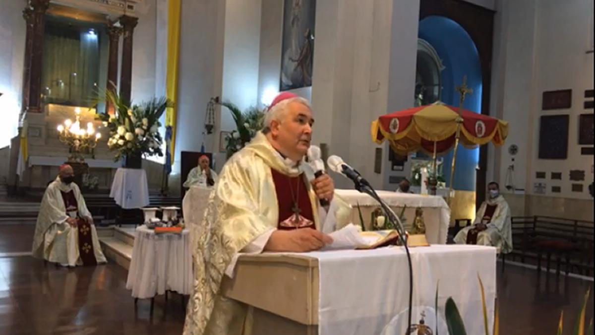 El Día de la Virgen de la Merced se celebró de manera virtual