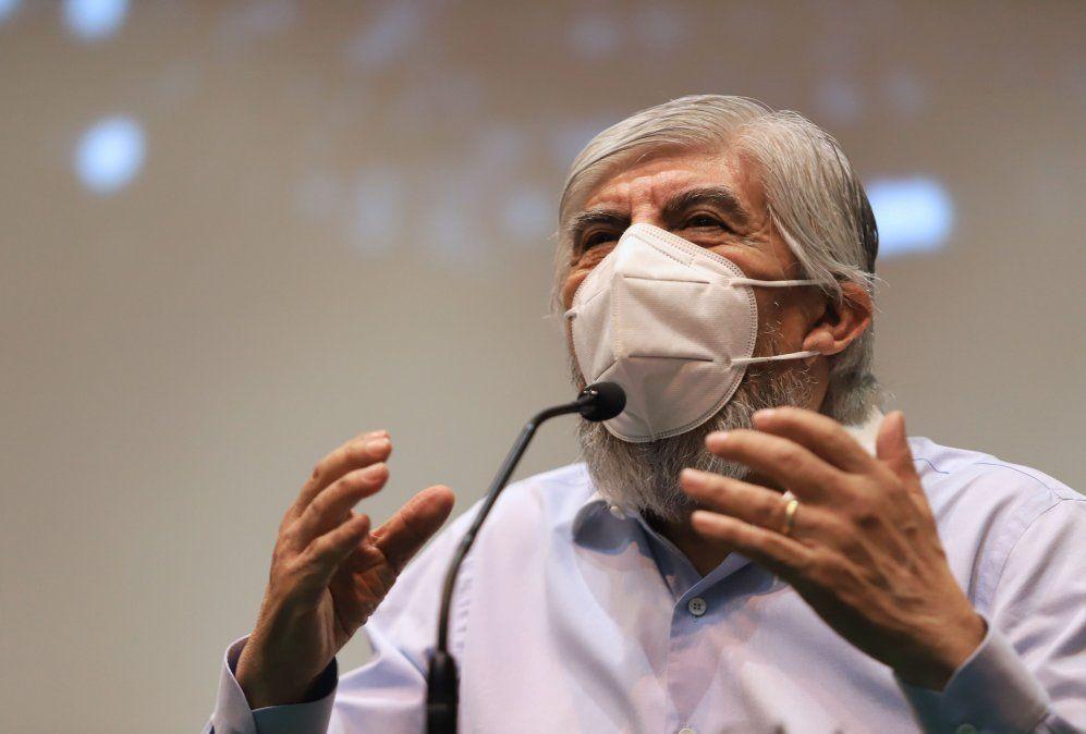Hugo Moyano respaldó a Fernández y criticó a Macri
