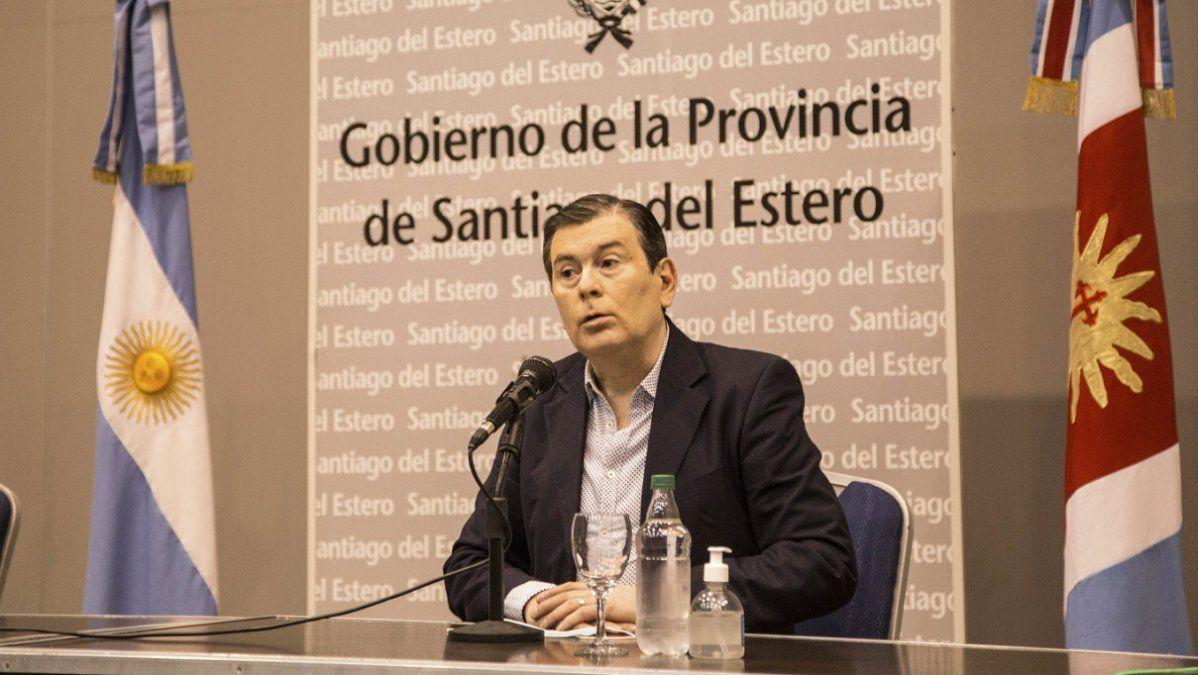 Santiago del Estero: Zamora suspendió la vuelta a clases