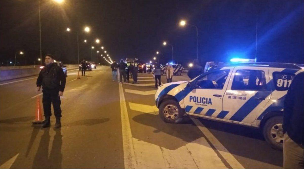 Tafí Viejo: conductor de una moto murió al chocar a un carro