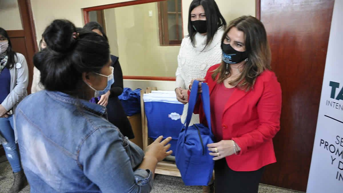 Futuras mamás fueron beneficiadas con el programa Taficeñitos