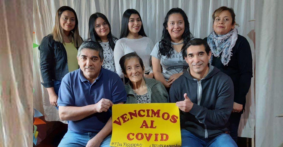Río Seco: familia de nueve integrantes superó el Covid-19
