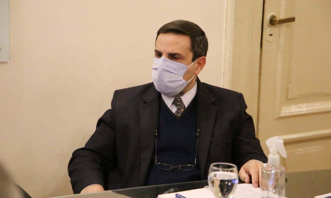 Medina Ruiz analizó la situación epidemiológica de la provincia. Foto MSPT