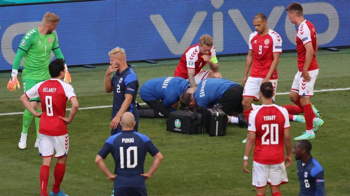 ¿Quién es el médico que salvó a Christian Eriksen?. Foto: lasexta.com