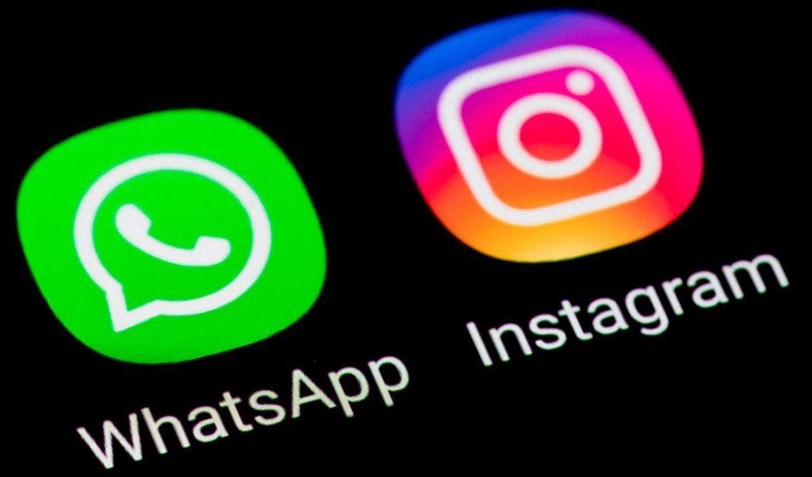 Reportan problemas en Whatsapp, Instagram y Facebook