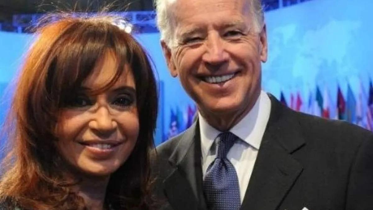Cristina Kirchner celebró las medidas de Joe Biden. Foto: ambito.com