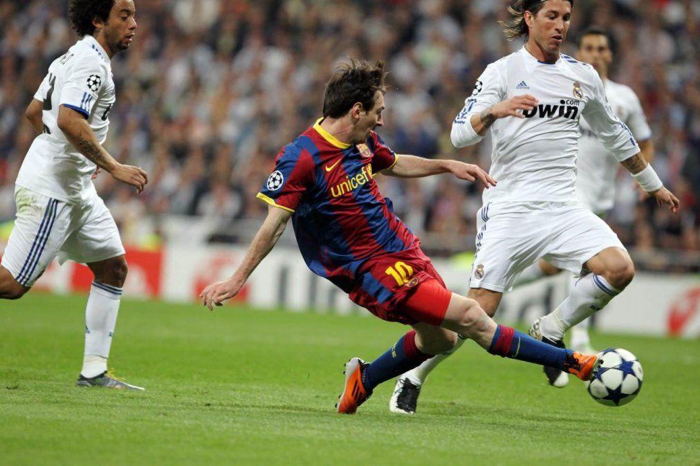 Messi quiere volver a hacerle un gol al Real Madrid.