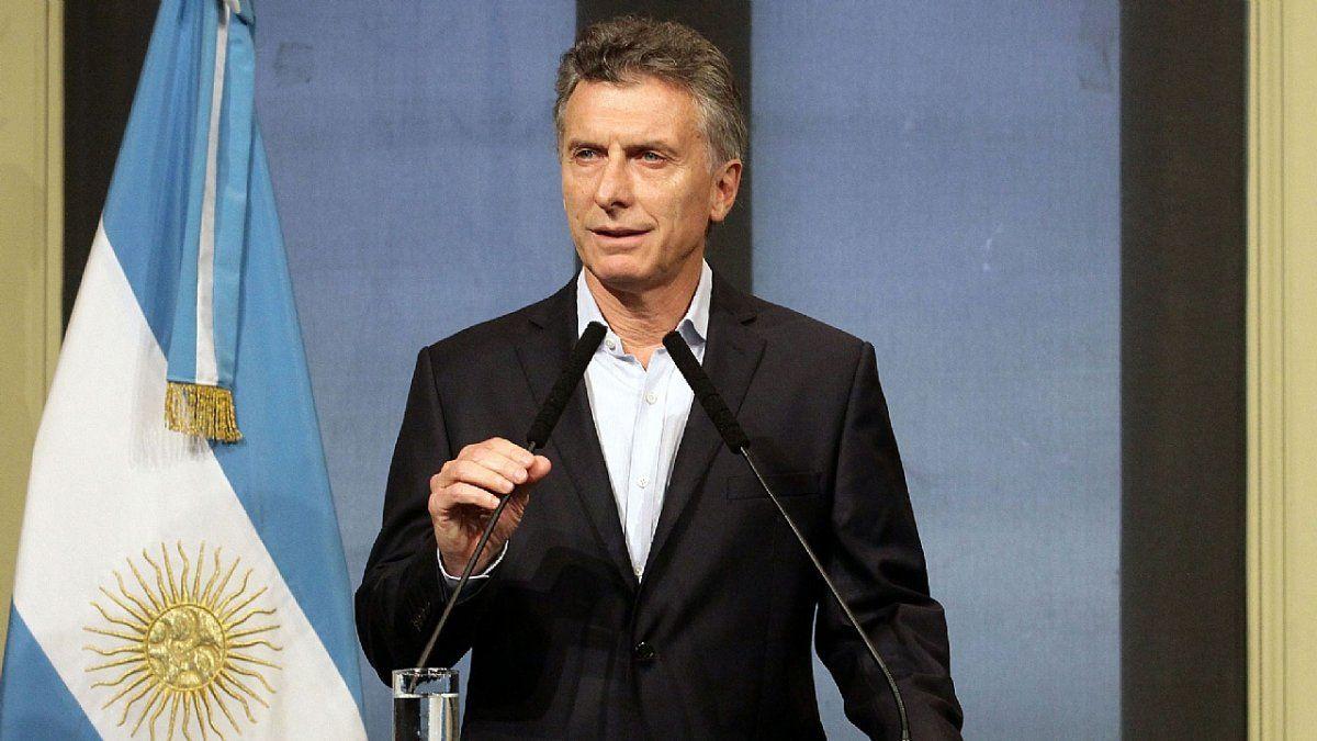Macri brindará un mensaje de balance de su gestión por cadena nacional