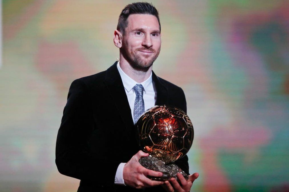 Lionel Messi ganó su sexto Balón de Oro: Nunca dejé de soñar
