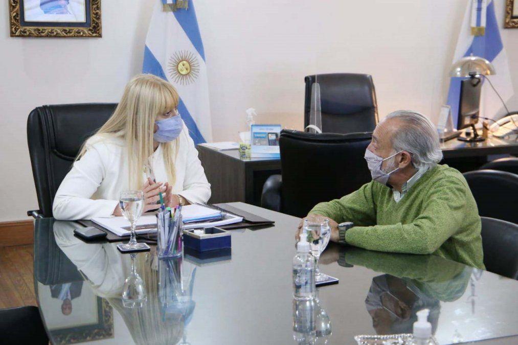 El doctor Alfredo Miroli se reunió con la Ministra de Salud de la provincia
