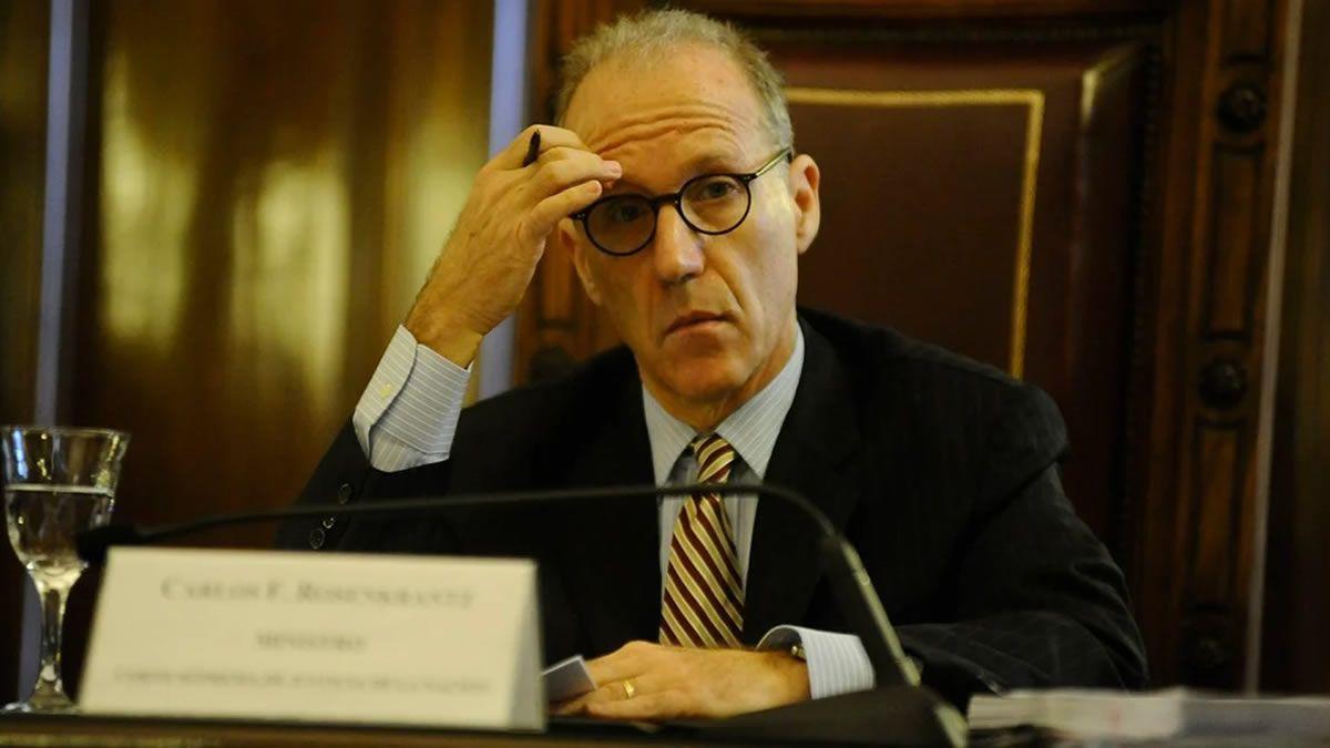 Rosenkrantz dijo que el Poder Judicial no abandonó sus responsabilidades
