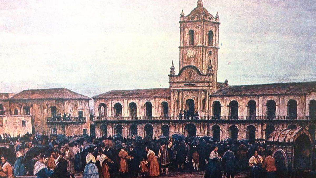 Qué pasó un 25 de mayo de 1810 en la Argentina. Foto: historiando.org