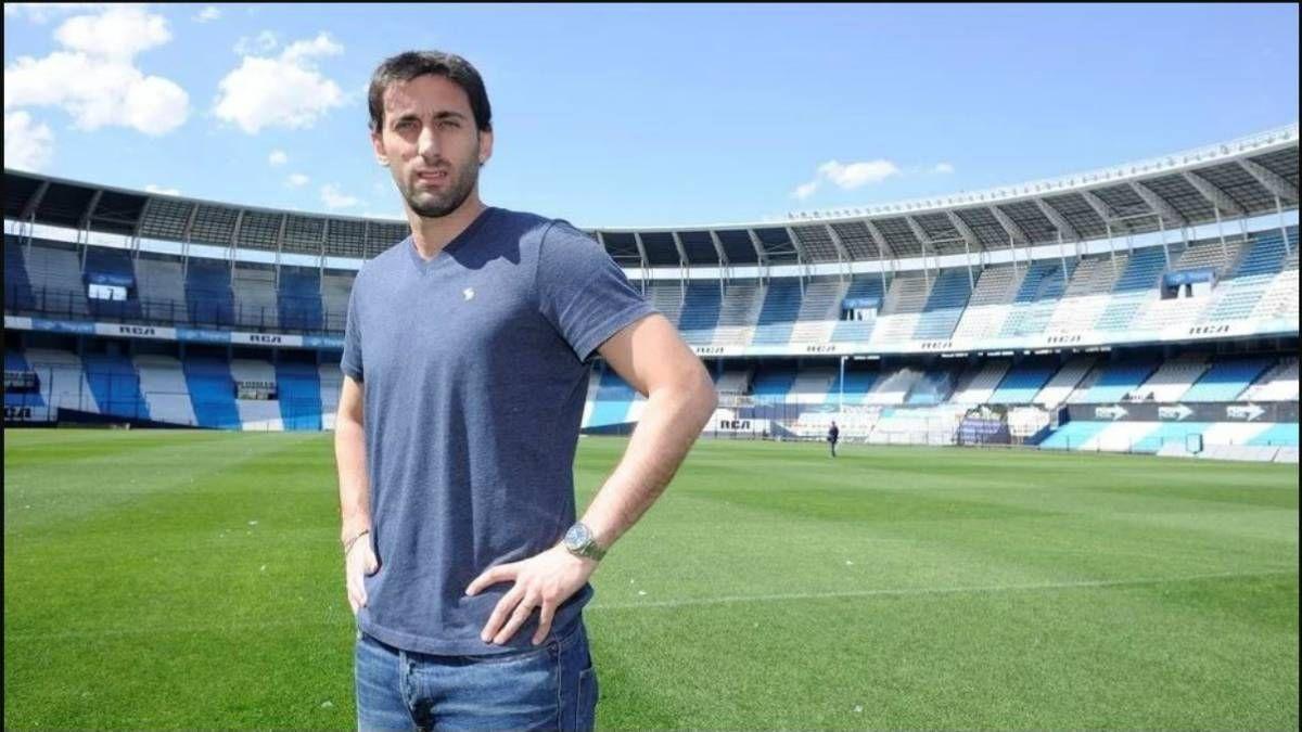 Diego Milito abandona Racing Club