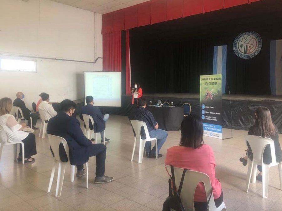 Dengue: Capacitan a municipios para controlar el Aedes Aegypti
