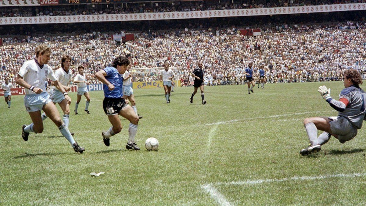 AFA homenajea el gol de Diego Maradona a Inglaterra
