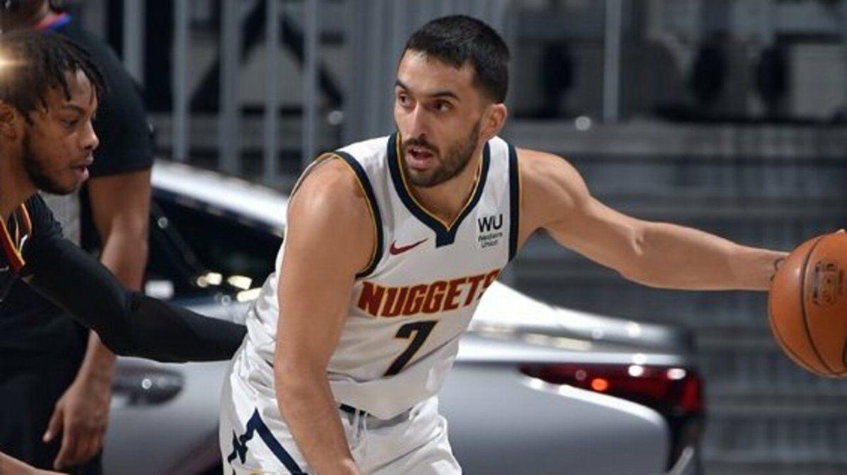 Denver Nuggets ganó con diez puntos de Facundo Campazzo