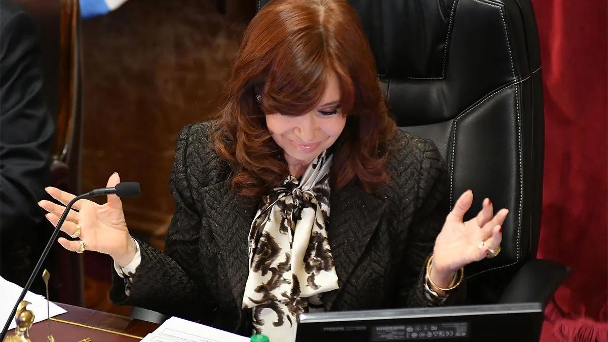 Cristina Kirchner le manifestó su apoyo a Esteban Bullrich