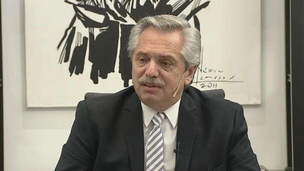 Alberto Fernández: Nosotros no queremos estar en default