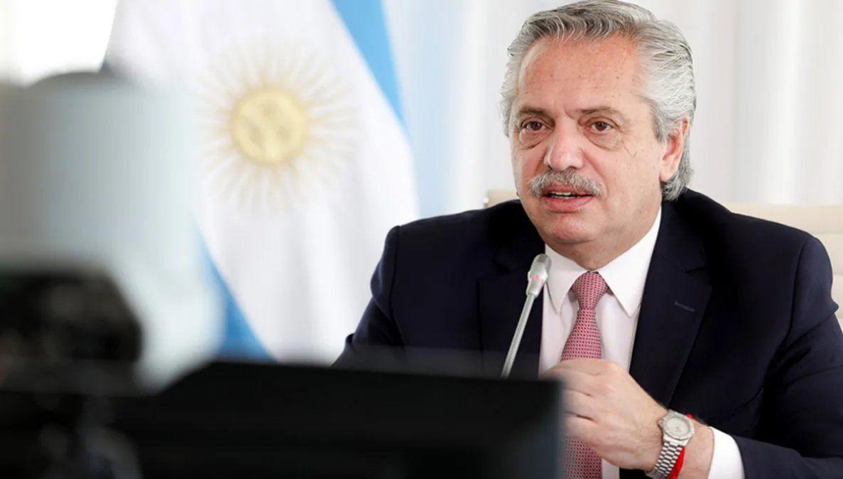 La punta de lanza de Fernández sigue siendo la cuestión sanitaria