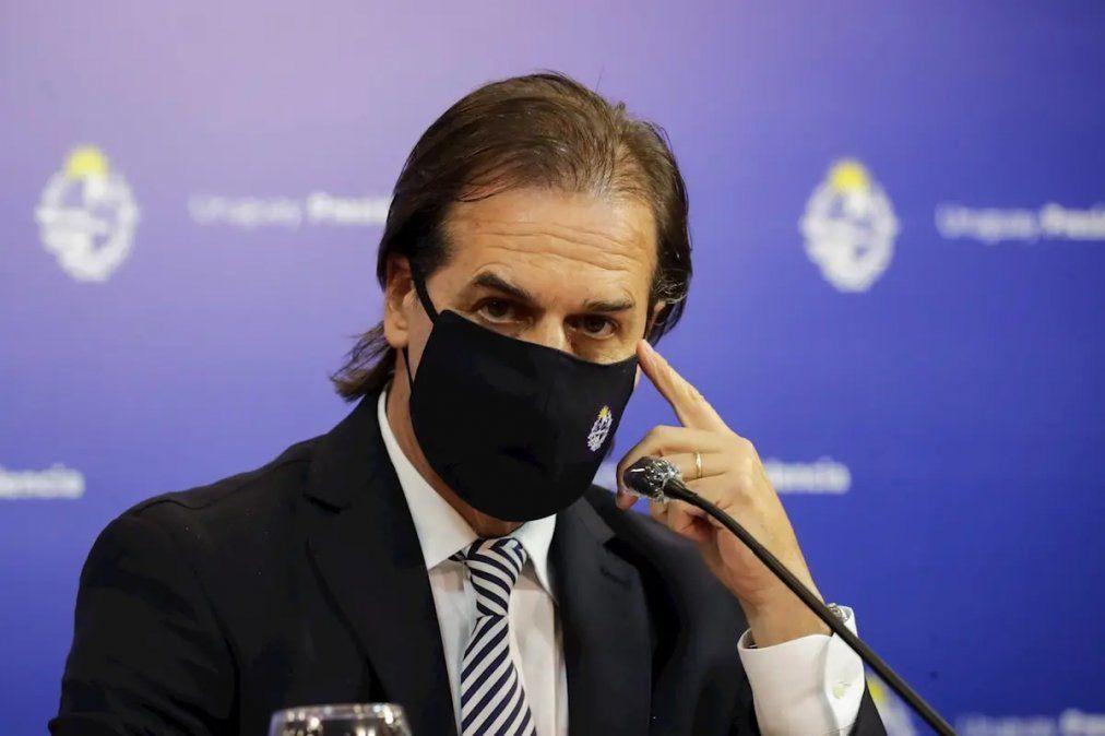 Uruguay: Lacalle Pou quiere limitar las reuniones