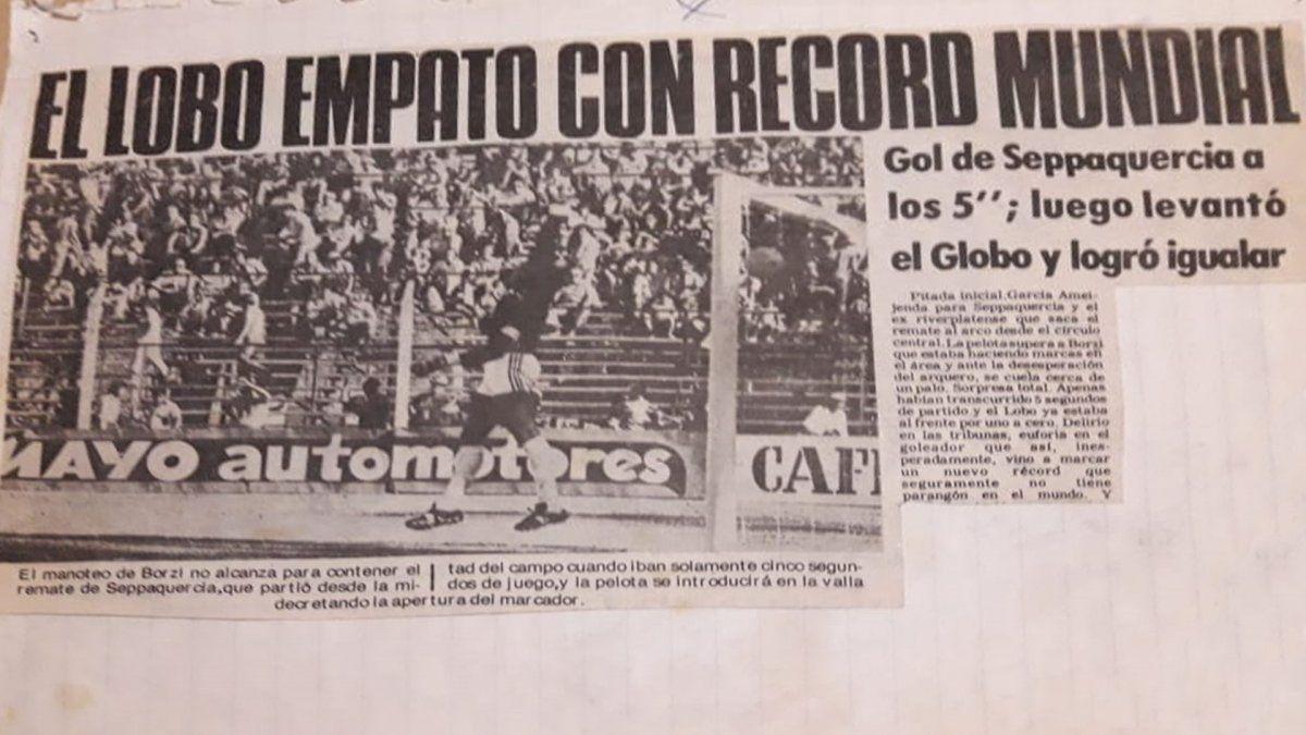 Carlos Seppaquercia cobró real dimensión de su gol a la mañana del día siguiente
