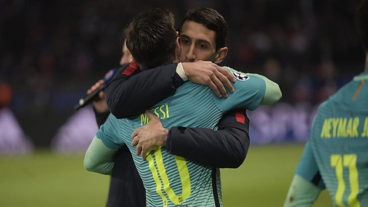 Di María dijo que hay muchas posibilidades de que Messi vaya al PSG